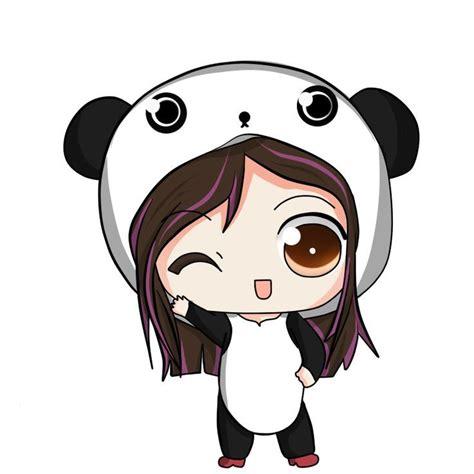 imagenes kawaii de anime anime disfrazada de un lindo y kawaii panda animes