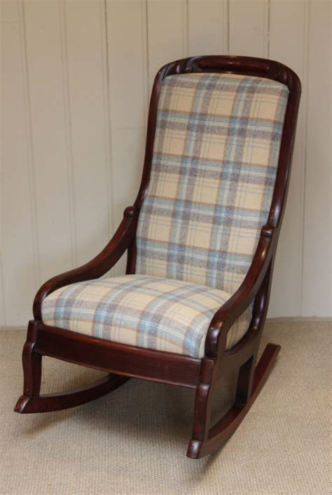 padded rocking chair uk late upholstered rocking chair 244300