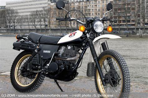 Cross Motorrad Xt 600 by Essai Yamaha 500 Xt