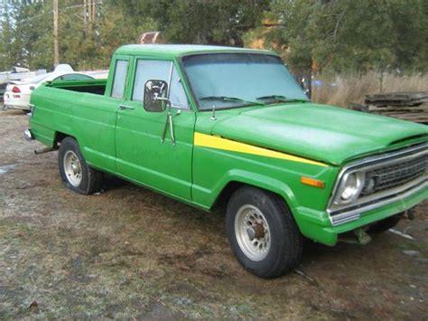 spokane truck wagoneer turned truck spokane wa 500 ewillys