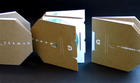 How To Make A Cd Cover Out Of Paper - how to create a kick cd packaging design brown paper