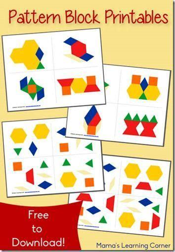 shape pattern online games free shape pattern worksheets free pattern block