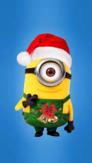minions christmas 01 wallpaper free iphone wallpapers