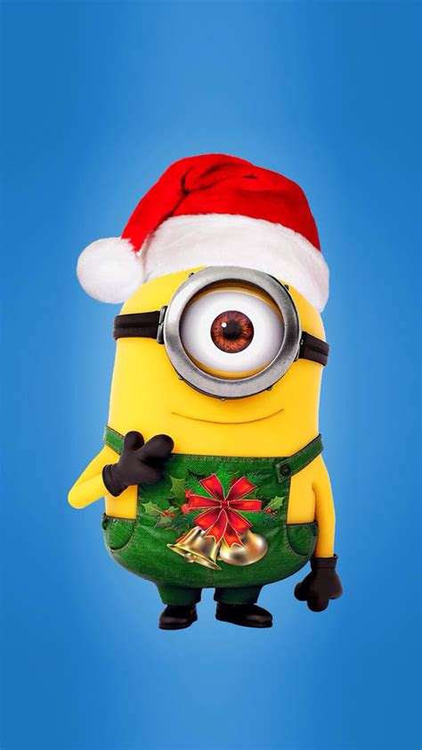 images of christmas minions minions christmas 01 wallpaper free iphone wallpapers
