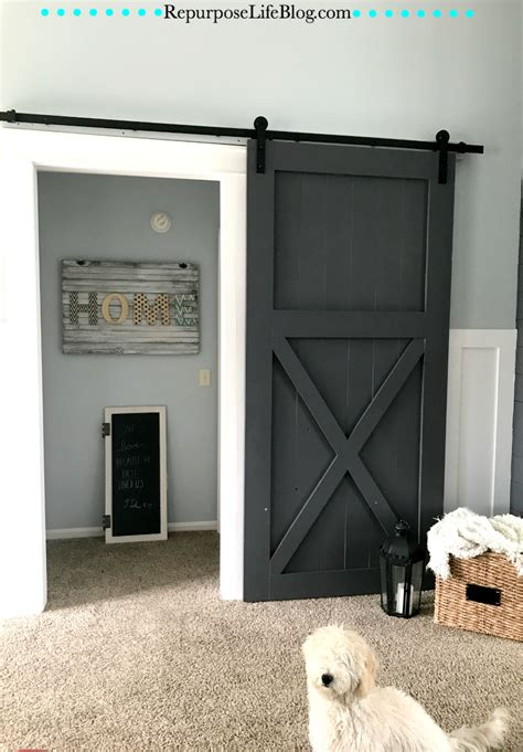 how to make your own sliding barn door how to make your own sliding barn door repurpose