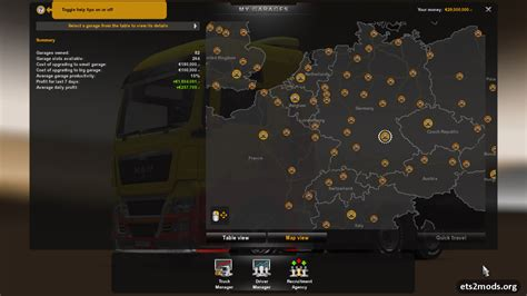 euro truck simulator 2 save game no mod ets 2 save game 1 7 0 ets2 mods