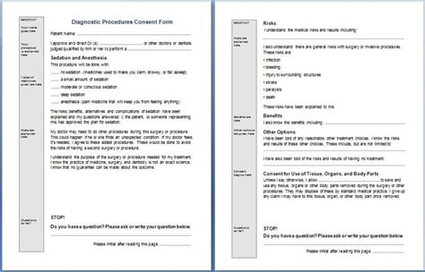 diagnosis form template dx procedure images search
