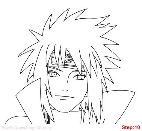 how to draw naruto how to draw minato namikaze from naruto mangajam