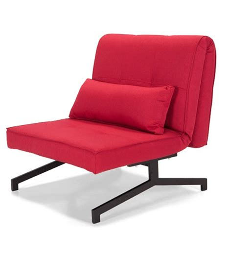 chair sofa bed single single chair sofa cum bed red by furny online sofa cum