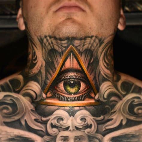 illuminati tattoo on neck 310 best all seeing eye tattoos images on pinterest eye