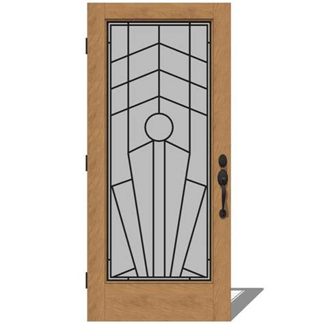 Jeld Wen Exterior Door by 5037 Exterior Doors 2 By Jeld Wen 3d Model Formfonts 3d