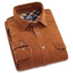 mens solid color flannel shirts brand 100 cotton corduroy mens dress shirts solid