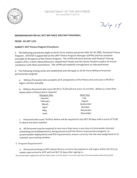 usaf appointment letter guidance documents naval postgraduate school