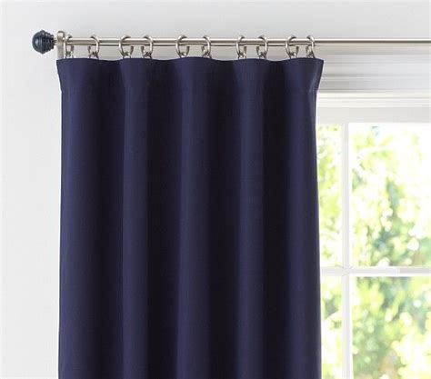 sailcloth drapes sailcloth panel pottery barn kids 4 panels 2 per