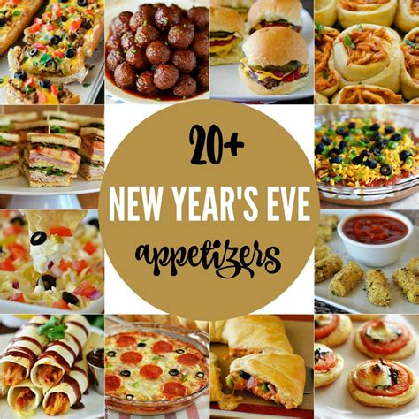 how to make new year treats 20 new year s appetizers in the lofthouse