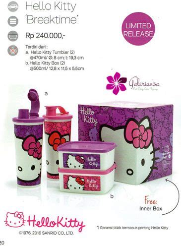 Tupperware Hello Breaktime hello breaktime tupperware indonesia promo