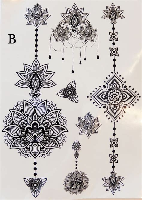 jewish henna tattoo designs 25 best ideas about black henna on henna