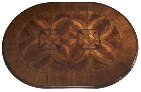 valencia extendable round dining table villa valencia round extendable dining table from aico