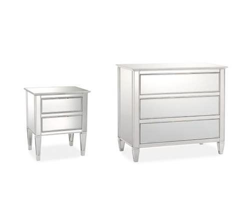 Park Mirrored Dresser by Park Mirrored Dresser Bedside Tables Set Pottery Barn