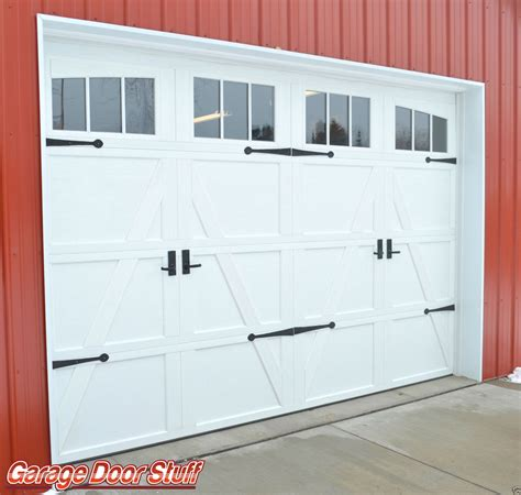 Garage Door Faux Hardware by Garage Door Hardware Garage Door Stuff