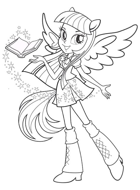 Coloriage My Little Pony Mylittlepony Coloriage My Pony Equestria Coloring