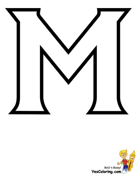 Printable Letter M Template   www.imgkid.com   The Image