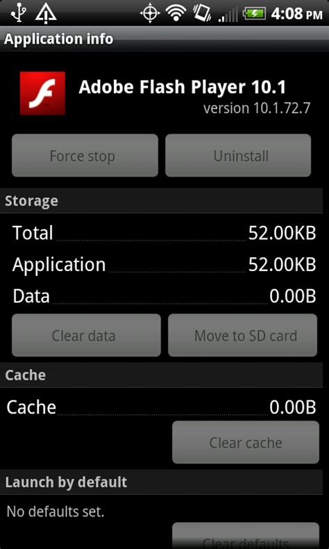 flash version 10 1 for android android 2 2 on the evo 4g android central