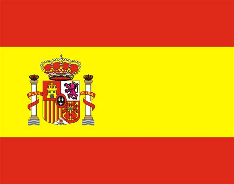 Printable Flags Of The World Printable Spain Flag