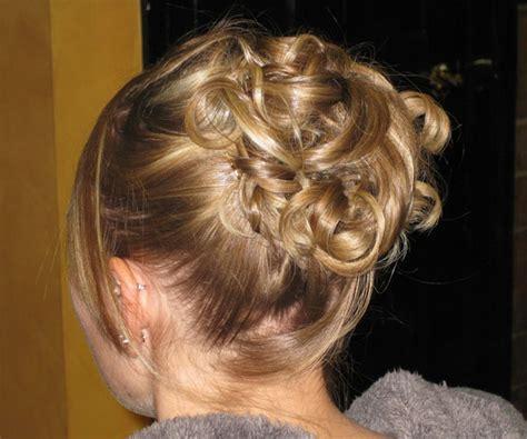 Pinned Up Hairstyles For Medium Length Hair by Prom Ready Updo Medium Hair Styles Ideas 7994