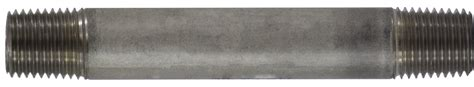 Nepel Nepple Stainless Steel 304 Dia 1 and fittings gt sch 40 stainless steel gt stainless steel 1 4 diameter