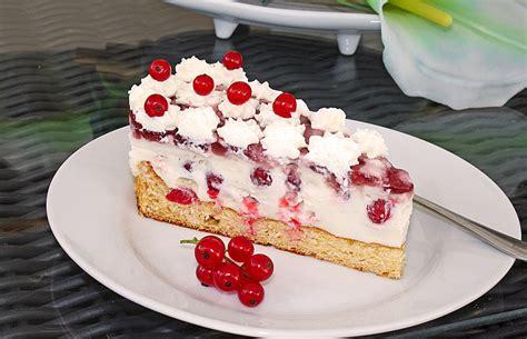 johannisbeer joghurt kuchen johannisbeer joghurt torte rezept mit bild