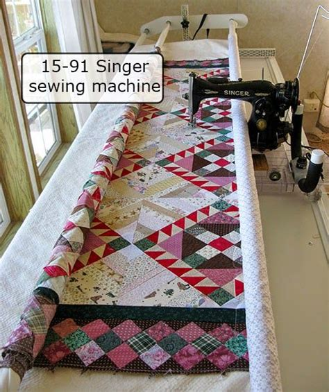 Singer Patchwork Sewing Quilting Machine - friday spotlight connie s vintage singer on a quilting