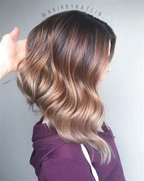 angled lob haircut shoulder length hairstyles to steal right now page 2