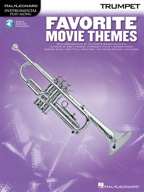 themes in film music favorite movie themes trumpet sheet music by various