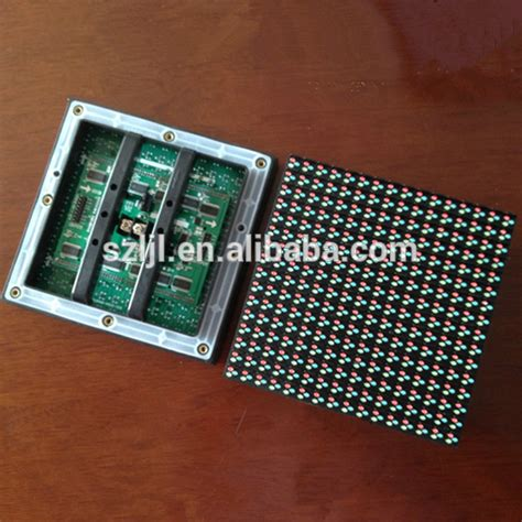 Modul Led P10 16x32 Indoor outdoor display p10 1r panle p10 module led 16x32