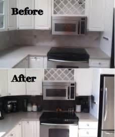 Vinyl Kitchen Backsplash Rhody Life Diy Vinyl Tiled Backsplash