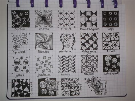 how to draw a tangle doodle part 2 zentangle multi patterns on zentangle