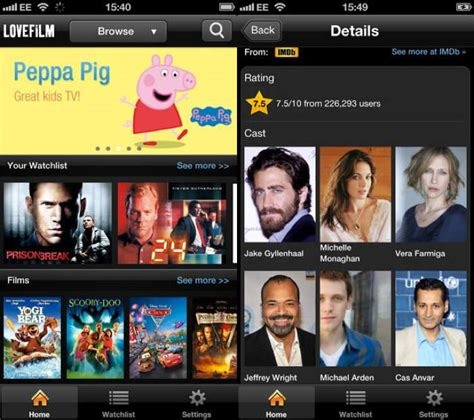 lovefilm watch now amazon lovefilm instant lands on iphone and ipod touch in