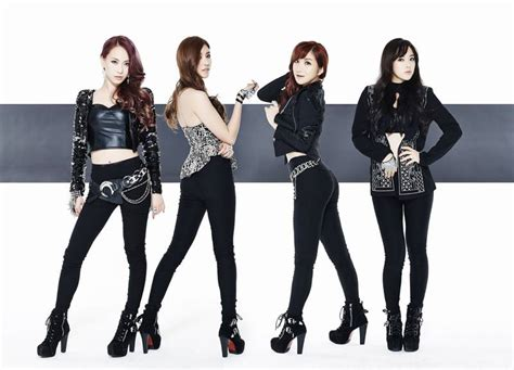 kpop rookie bands 2014 4 member rookie girl group kiss cry drop fierce and sexy