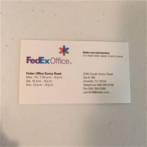 Fedex Office Business Cards fedex office print ship center 18 photos shipping
