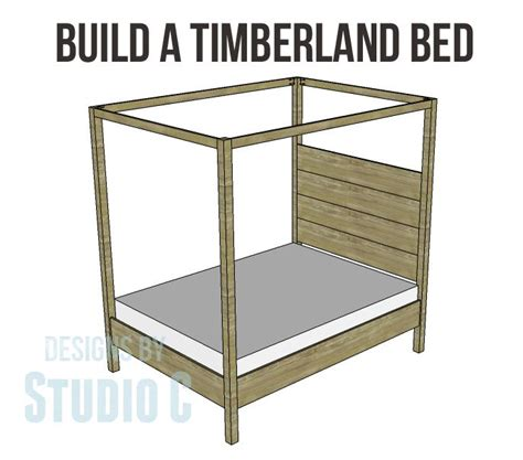 How To Build A Canopy Bed Frame 31 Best Images About Poster Bed Plans On Discover More Ideas About White