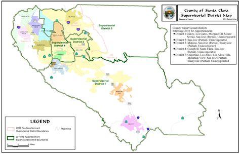 Records Santa Clara County Redistricting Registrar Of Voters County Of Santa Clara