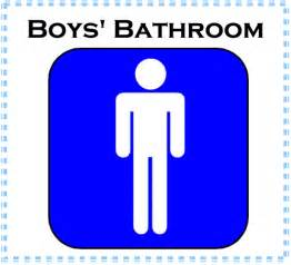 restroom sign clipart 46