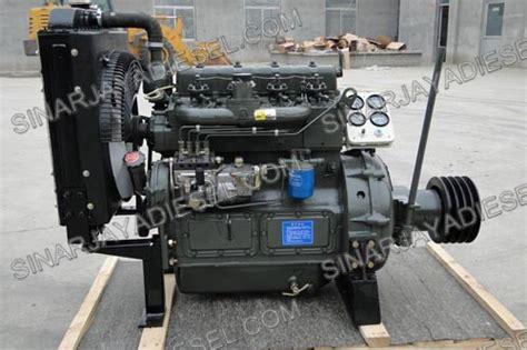 Mesin Potong Rumput Merk China mesin diesel tianli 495g pto 50hp sinar jaya diesel
