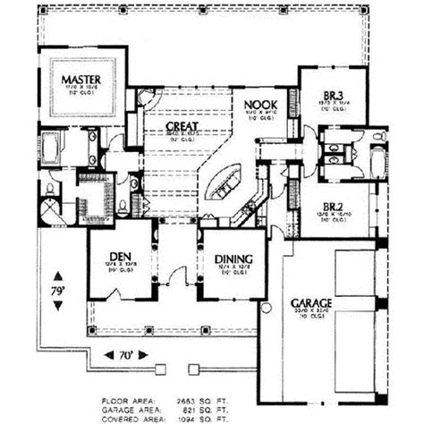 adobe southwestern style house plan 3 beds 2 baths 1700 sq ft plan 4 102 adobe southwestern style house plan 3 beds 2 5 baths