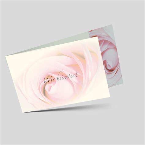 Hochzeitseinladungen Rosa by Hochzeitseinladung Rosenzauber In Rosa