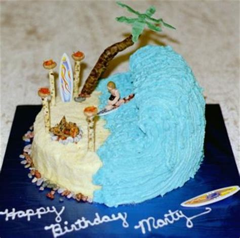 Surf Cake Decorations by Surfing Cake Http Www Cake Decorating Corner