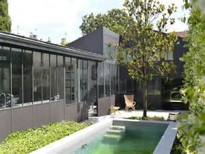 maison de ville avec jardin et piscine