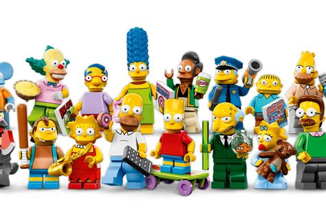 New Itchy Lego Minifigures The Simpsons No 13 Sse050 a look at the simpsons lego minifigs cool picks