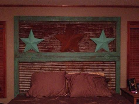 rustic headboard diy home ideas pinterest